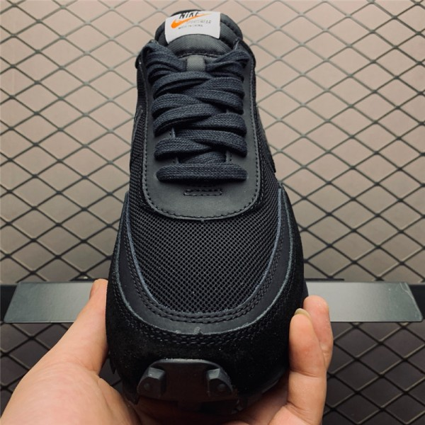 Sacai x Nike LDV Waffle Triple Black On Sale