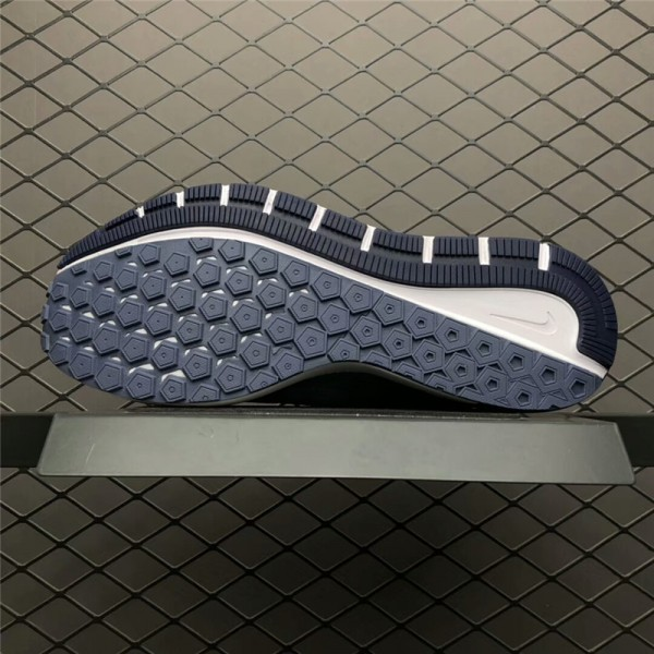 Men Nike Air Zoom Structure 22 Navy Blue White For Men