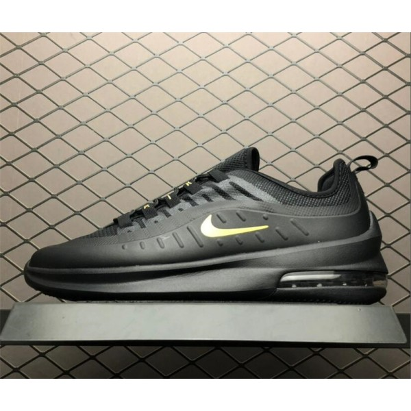 Nike Air Max Axis Black Gold Running Shoes