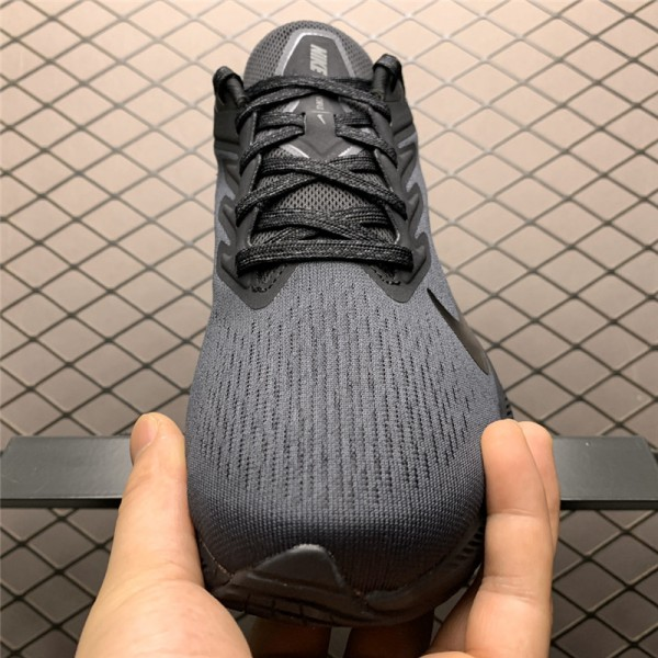 Nike Air Zoom Winflo 7 Black Shoes Sale For Men