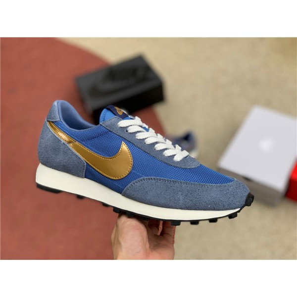 Newest Nike Daybreak SP Ocean Fog Metallic Gold For Men