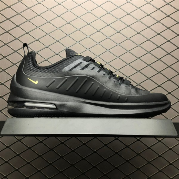 Nike Air Max Axis Black Metallic Gold Running Shoes