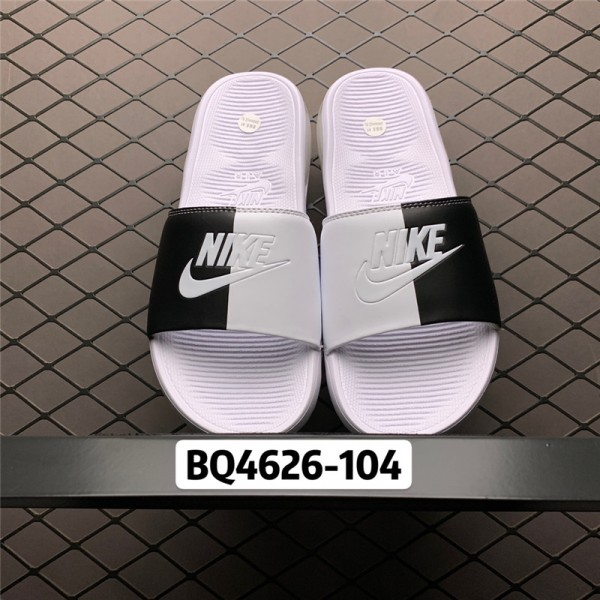 Nike Air Max Camden Black White Slide Sandals