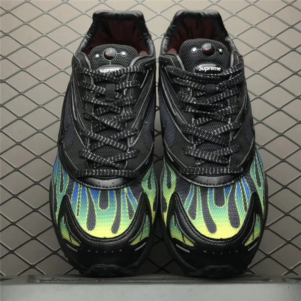 Supreme x Nike Zoom Streak Spectrum Plus Black Volt