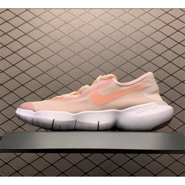 Nike Free RN 5.0 2020 Champagne Pink White For Women