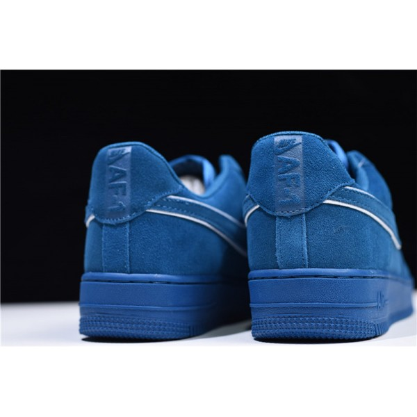 Nike Air Force 1 07 LV8 Low Suede Blue