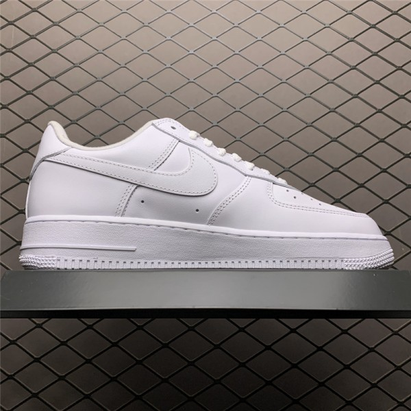 Supreme x Nike Air Force 1 Low White Sale For Men