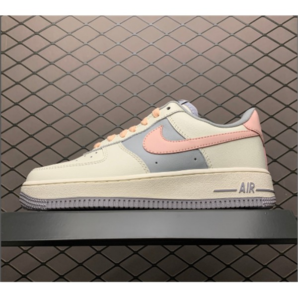 Nike Air Force 1 Low Pink White Shoes CW7584-101 For Women