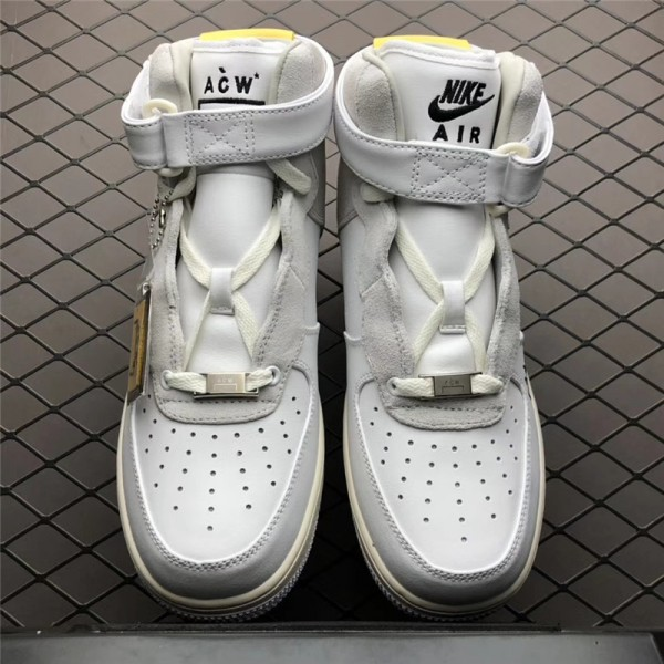 A-Cold-Wall* x NikeLab Air Force 1 High White Grey For Men