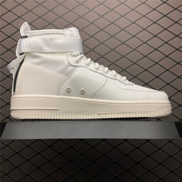 Nike SF-AF1 Air Force 1 Mid Triple Ivory AA6655-100