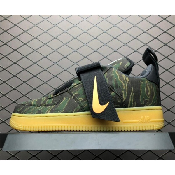 Carhartt WIP x Nike Air Force 1 Utility Low Camo Green