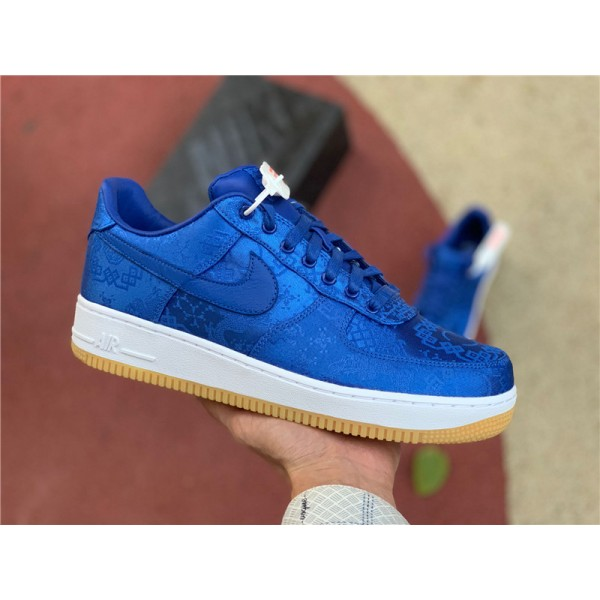 CLOT x Nike AF1 PRM Royal Silk On Sale For Men
