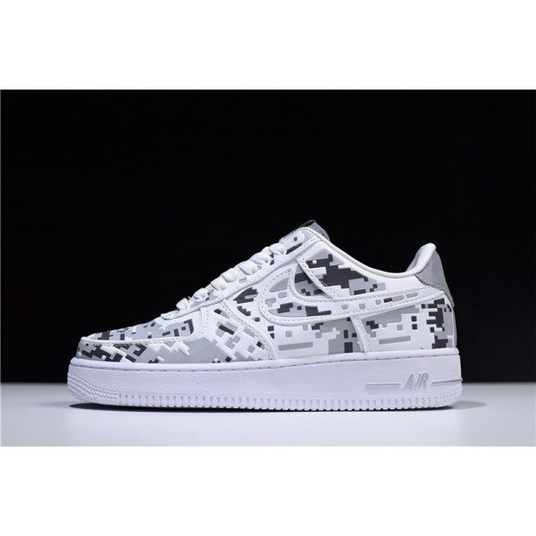 Nike Air Force 1 Low Premium 08 QS Digital Camo White For Men