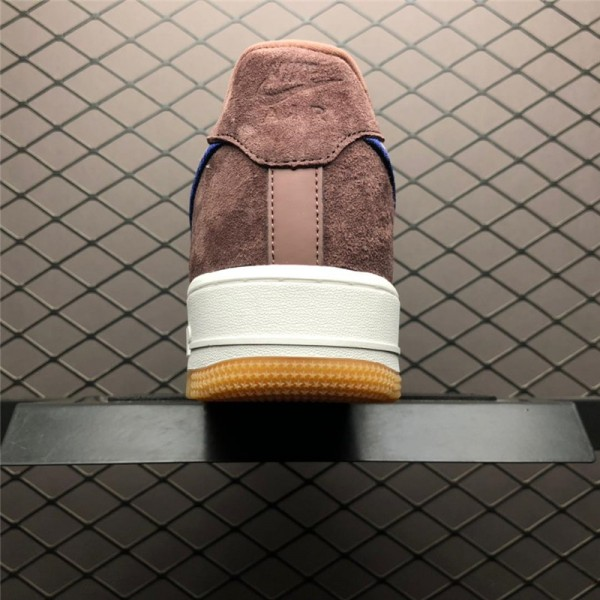 Nike Air Force 1 07 Lux Mauve Gum Yellow-White For Women