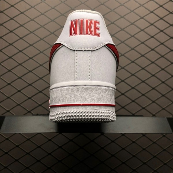 Nike Air Force 1 07 White Red AO2423-102