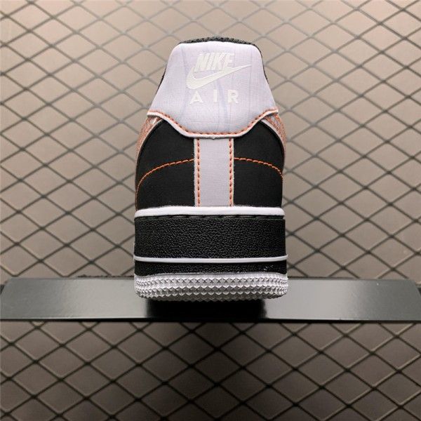 Nike Air Force 1 Low Exposed Sticthing Black White