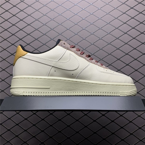 Nike Air Force 1 Low Fossil Wheat-Shimmer Sneakers Sale