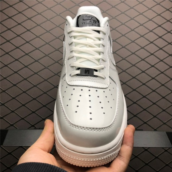 Nike Air Force 1 Low Lux Iridescent White Black