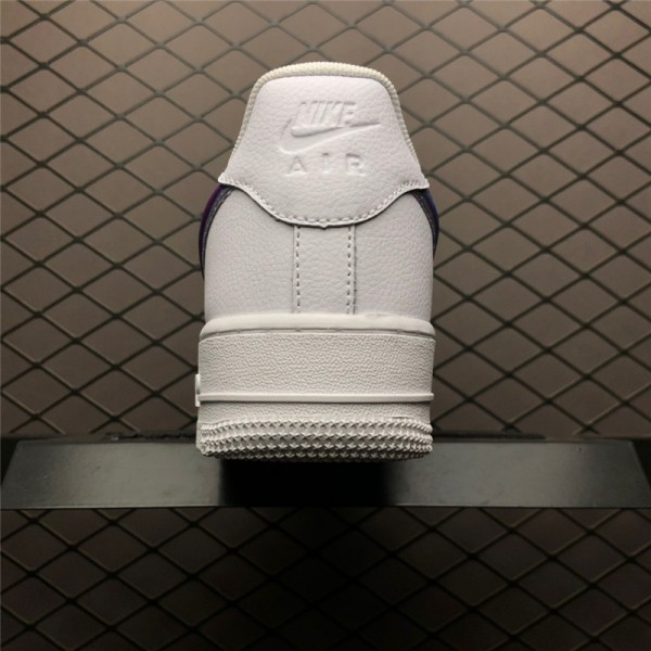 Nike Air Force 1 Low Oversized Swoosh White Blue