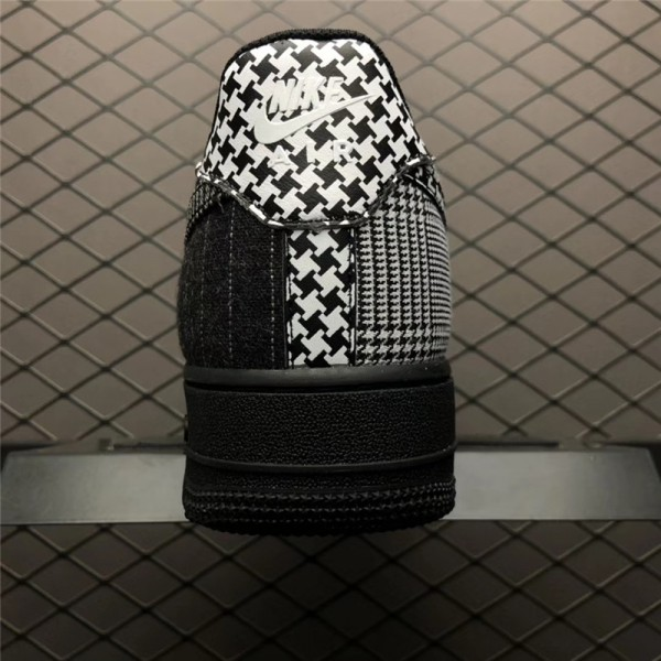 Nike Air Force 1 Low Patchwork Black White