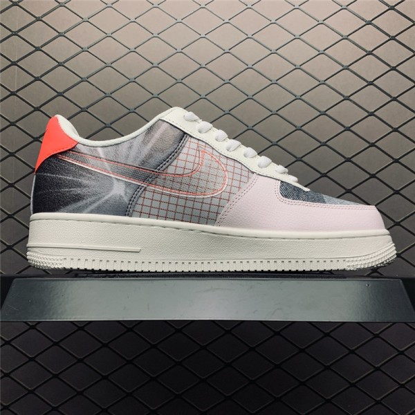 Nike Air Force 1 Low Tri-Color Canvas Light Soft Pink Sail