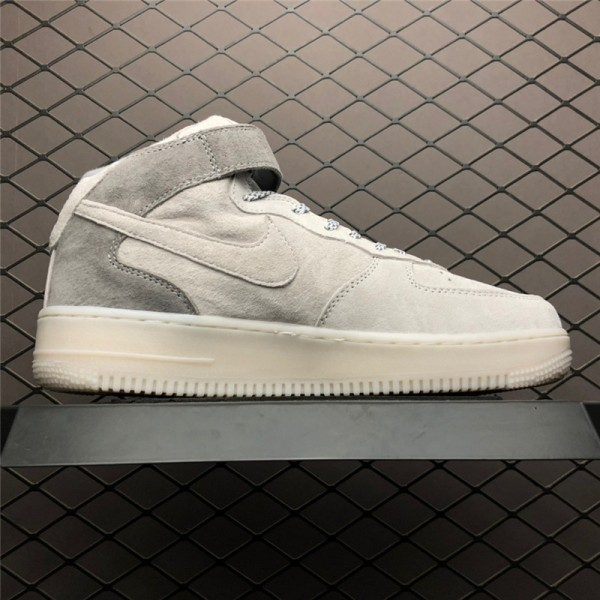 Nike Air Force 1 Mid AF1 X Reigning Champ White Grey Black