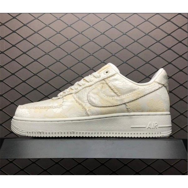 Nike Air Force 107 Low Premium White On Sale