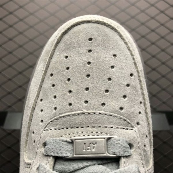 Reigning Champ x Nike Air Force 1 Low 07 Suede Grey Black