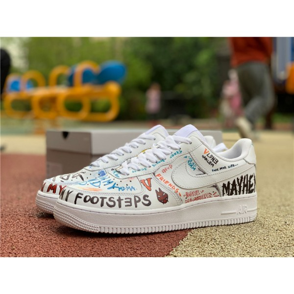Vlone x Pauly x Nike Air Force 1 Mase Size For Men