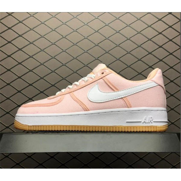 Nike Air Force 1 07 PRM Beige Pink On Sale For Women