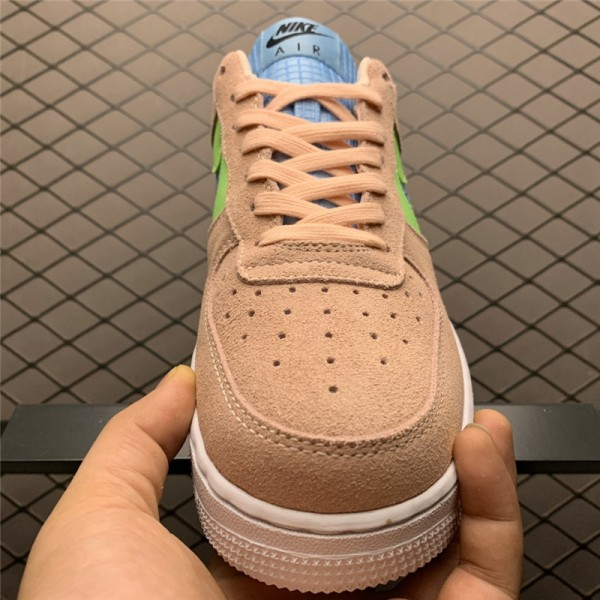 Nike Air Force 1 07 SE Washed Coral Ghost Green For Women