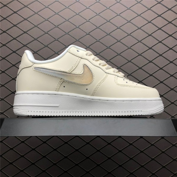 Nike Air Force 1 Jelly Puff Pale Ivory Summit White For Women