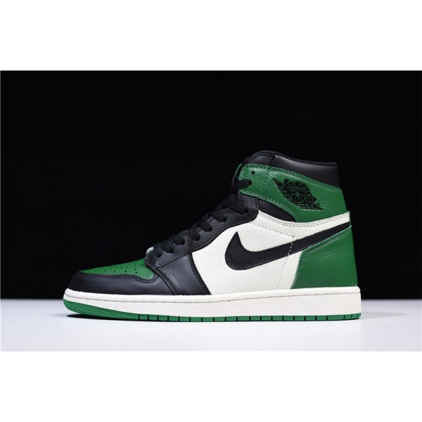 Air Jordan 1 Retro High OG Pine Green/Sail-Black For Men