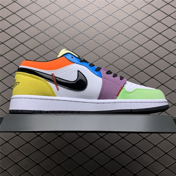 Air Jordan 1 Low SE Lightbulb Multi-Color For Sale