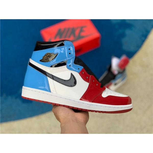 Men Shoes Air Jordan 1 High Fearless UNC Chicago For Men