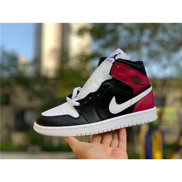 Air Jordan 1 Mid Noble Red For Sale For Women