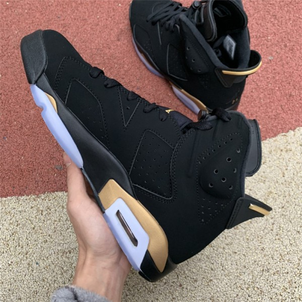 Release Air Jordan 6s DMP Black Metallic Gold For Men