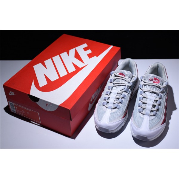 Nike Air Max 95 White Team Red 749766-103 For Men