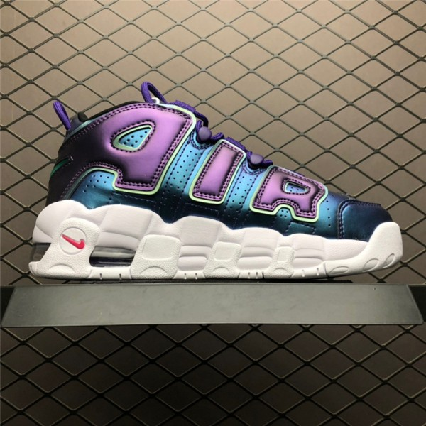 Nike Air More Uptempo GS Purple Iridescent For Women