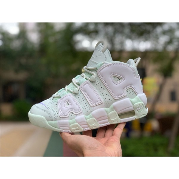 Nike Air More Uptempo Barely Green Sale For Women