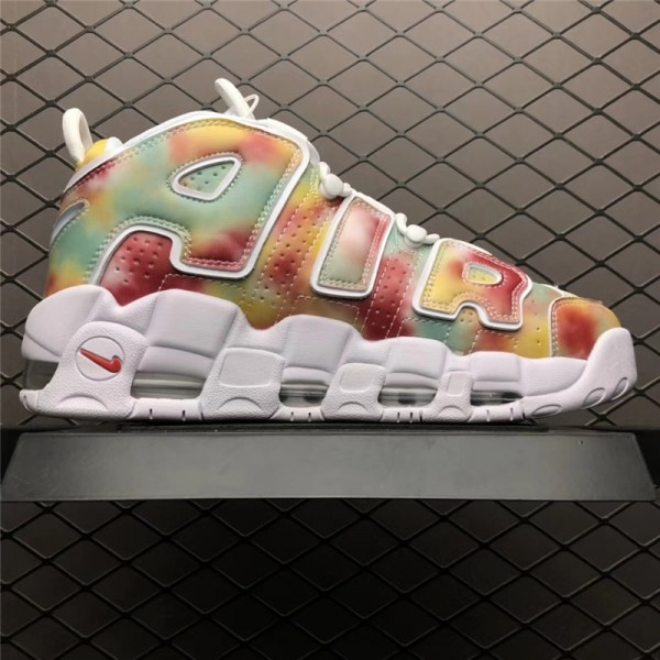 Nike Air More Uptempo EU City Pack UK Amarillo Speed Red