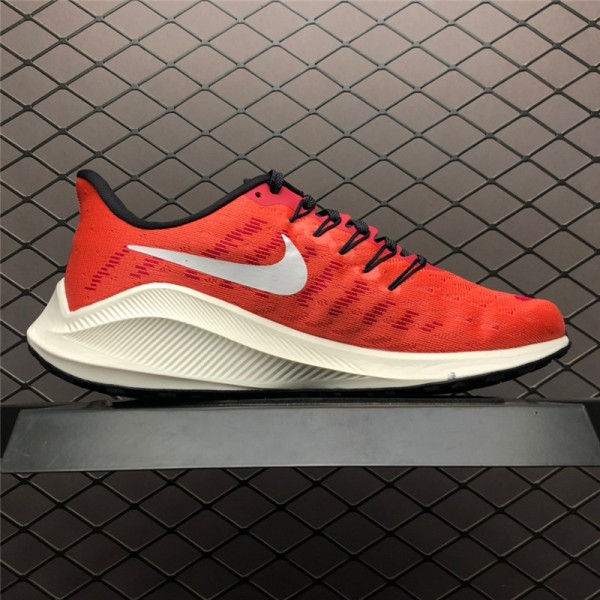 Nike Air Zoom Vomero 14 Red Black-Sail For Women