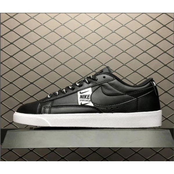 Nike Blazer Low SE In Black White AV9374-010