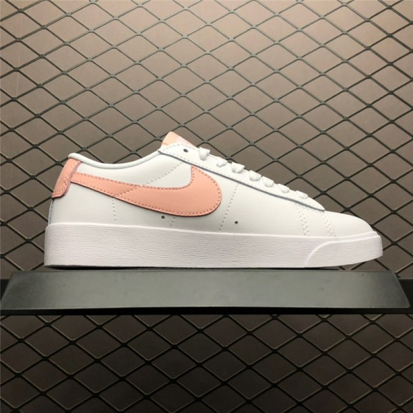 Nike Blazer Low LE Storm Pink White Casual Shoes For Women