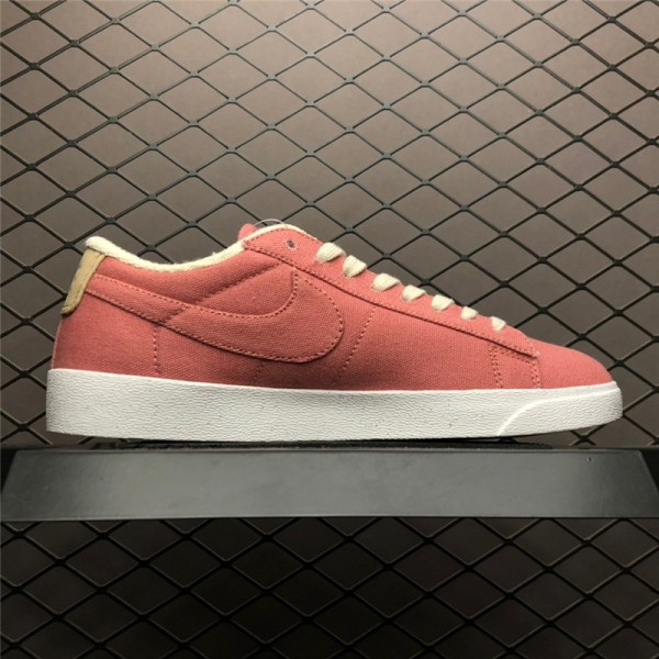 Nike Blazer Low Plant Color Pack Red AV9371-600 For Women
