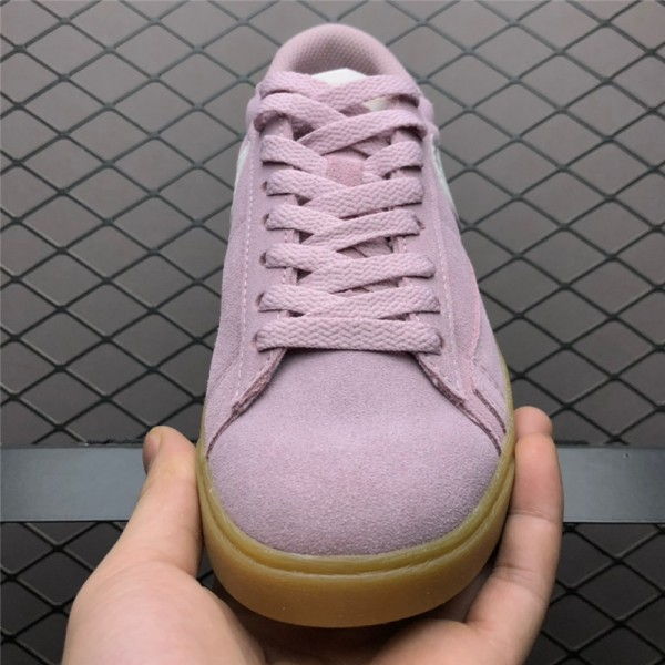 Nike Blazer Low Suede Plum Chalk Shoes AV9373-500 For Women