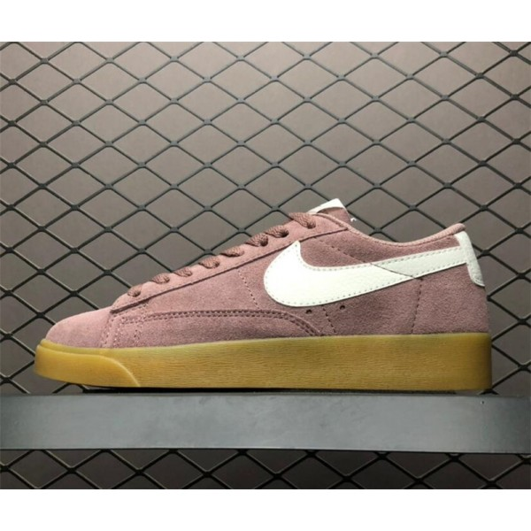 Nike Blazer Low Suede Smokey Mauve Running Shoes For Women