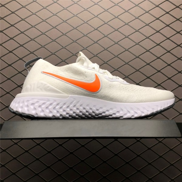 Nike Epic React Flyknit 2 Pure Platinum Wolf Grey-White For Men