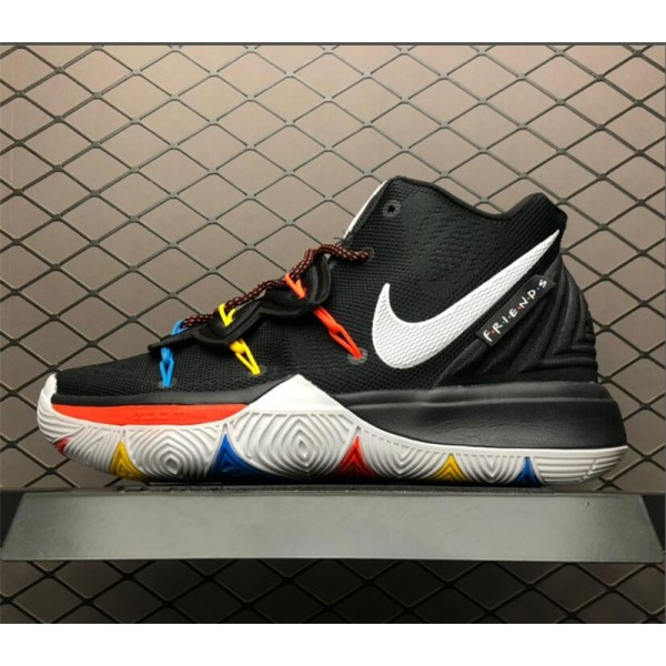 Nike Kyrie 5 Friends Black Red AO2918-006 For Men