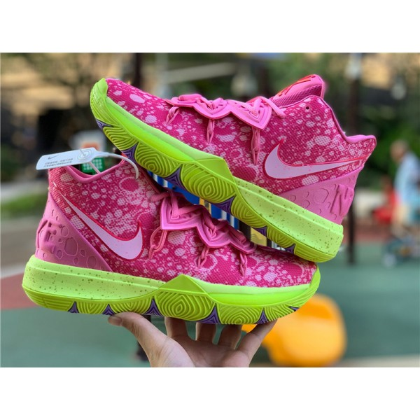 SpongeBob x Nike Kyrie 5 Patrick Star Lotus Pink For Men